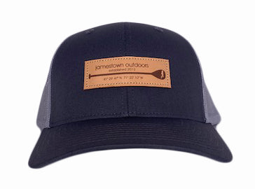 Jamestown Outdoors Trucker Leather Patch