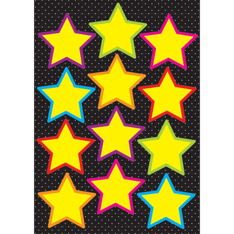 DIE CUT MAGNETS YELLOW STARS