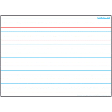HANDWRITING SPACE SAVERS POSTERMAT
