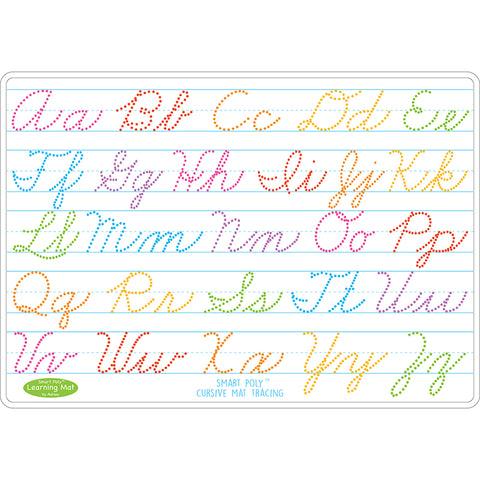 10PK CURSIVE WRITING MAT 2 SIDED