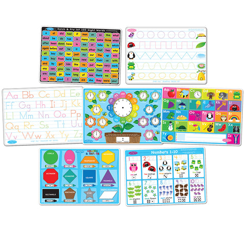 7 PK EARLY EDUCATION LEARNING MATS