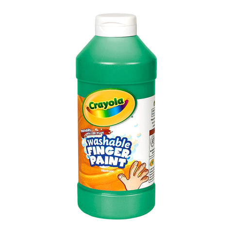 WASHABLE FINGERPAINT 16OZ GREEN