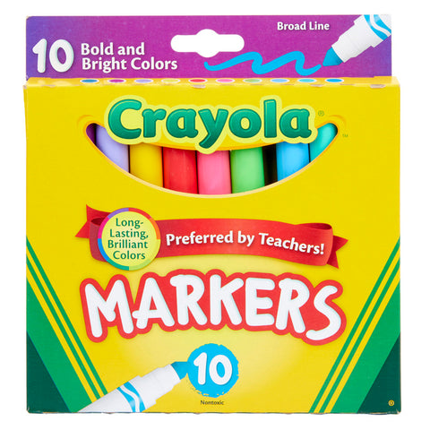 10CT BOLD & BRIGHT MARKERS