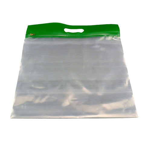 ZIPAFILE STORAGE BAGS 25PK GREEN