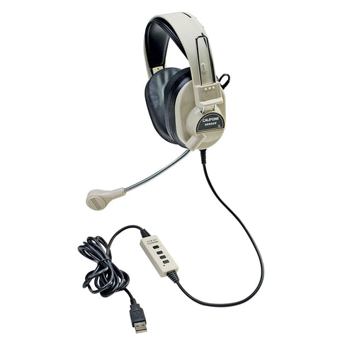 DELUXE MULTIMEDIA STEREO HEADSET W/