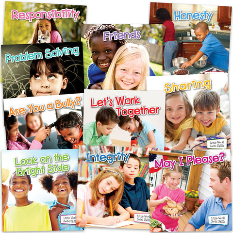 LITTLE WORLD SOCIAL SKILLS 10 BOOKS