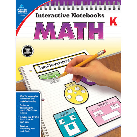INTERACTIVE NOTEBOOKS MATH GRADE K