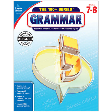 100 PLUS GRAMMAR WORKBOOK GRADE 7-8