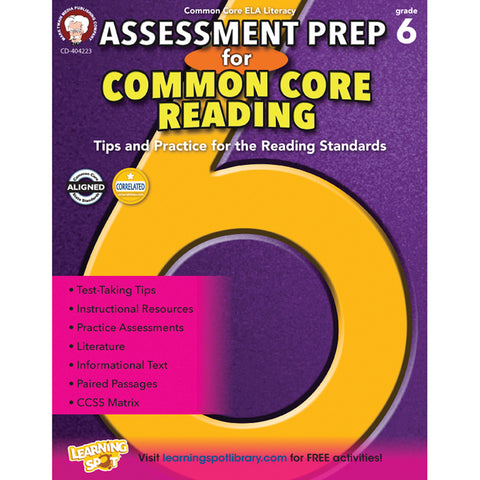 GR 6 ASSESSMENT PREP FOR COMMON