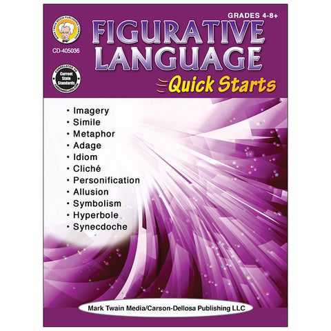 FIGURATIVE LANGUAGE WORKBOOK