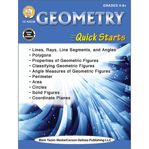 GEOMETRY QUICK STARTS WORKBOOK