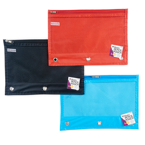 24ST ASSTED PENCIL POUCH 1 POCKET