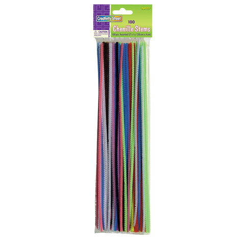 CHENILLE STEMS ASST 12IN STEMS