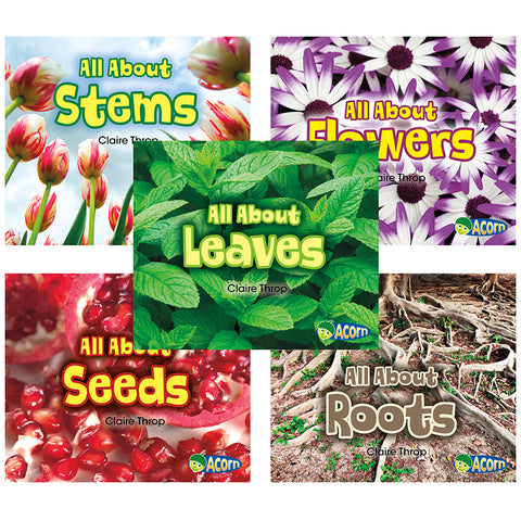 ALL ABOUT PLANTS 5 BOOK SET