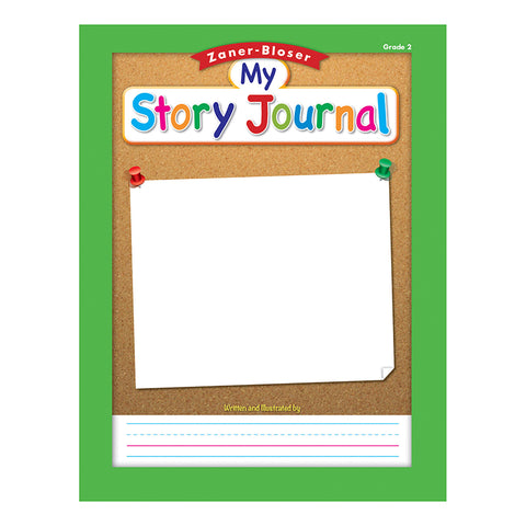 ZANER BLOSER STORY JOURNAL GR 2