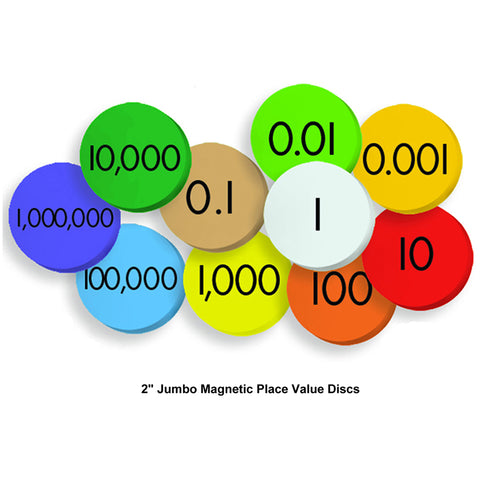 10-VALUE JUMBO MAGNETIC PLACE VALUE