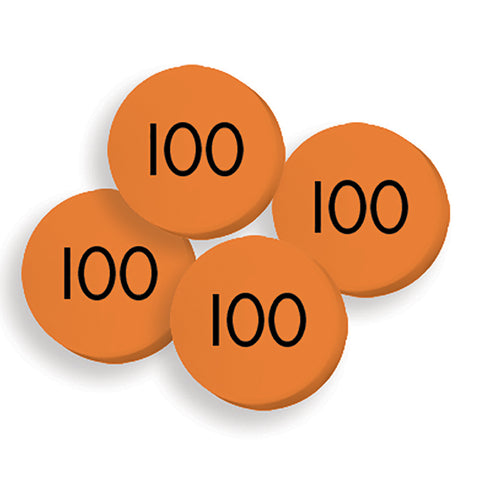 100 HUNDREDS PLACE VALUE DISCS SET