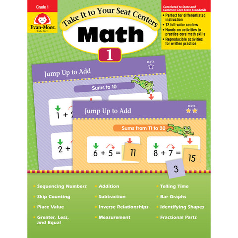 TAKE IT TO YOUR SEAT GR 1 MATH