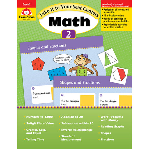 TAKE IT TO YOUR SEAT GR 2 MATH