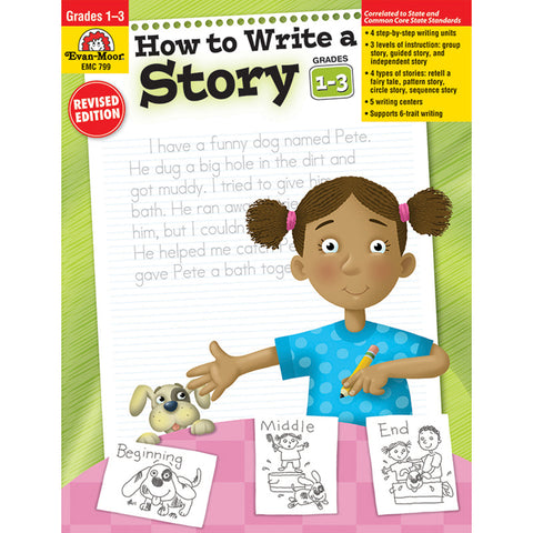 HOW TO WRITE A STORY GR 1-3