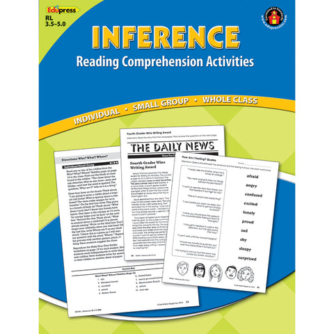 INFERENCE COMPREHENSION BOOK BLUE