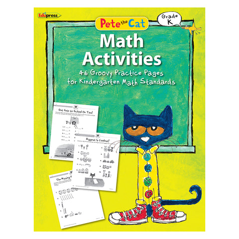 PETE THE CAT MATH WORKBOOK GR K