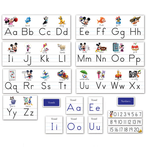 MICKEY MOUSE CLUBHOUSE ALPHABET