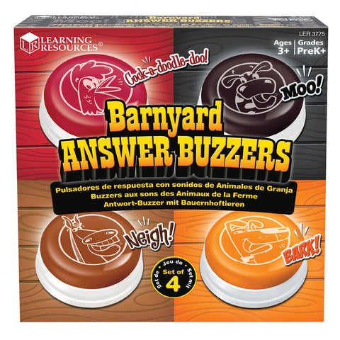 ANIMAL ANSWER BUZZERS