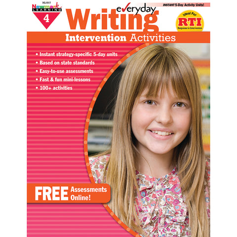 EVERYDAY WRITING GR 4 INTERVENTION