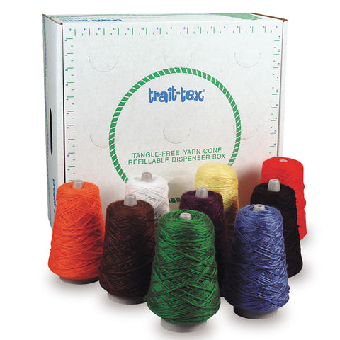 RUG YARN DISPENSER BRIGHT COLORS