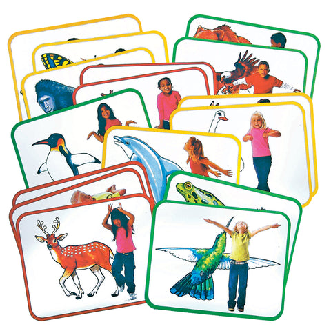 BODY POETRY ANIMAL ACTION CARDS