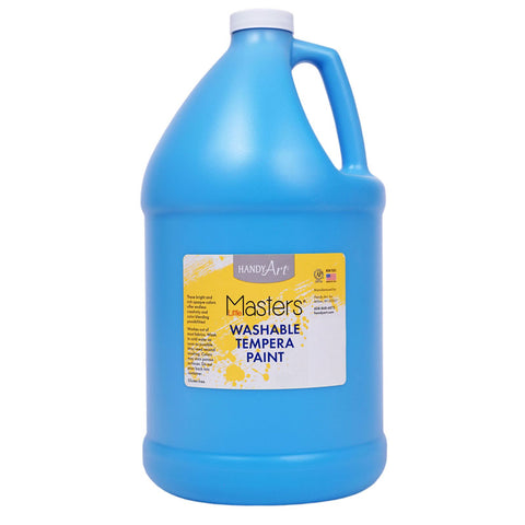 WSHBLE TEMPERA PAINT GALLON LT BLUE