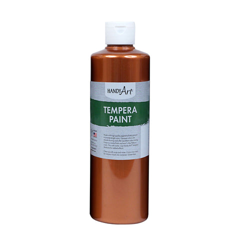 16OZ METALLIC COPPER TEMPERA PAINT
