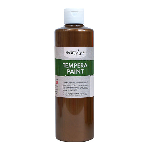 16OZ BRONZE METALLIC TEMPERA PAINT