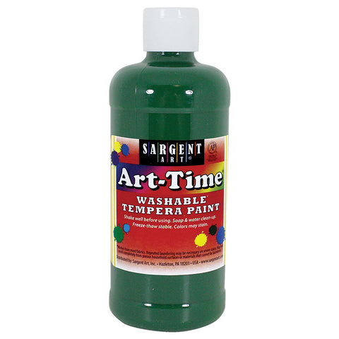 (12 EA) GREEN ART-TIME WASHABLE