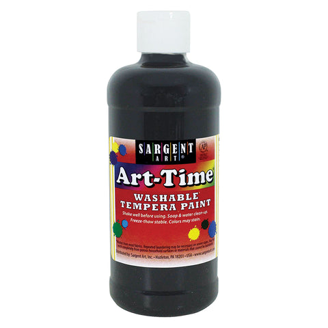 (12 EA) BLACK ART-TIME WASHABLE