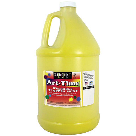YELLOW ART-TIME WASHABLE PAINT GLLN