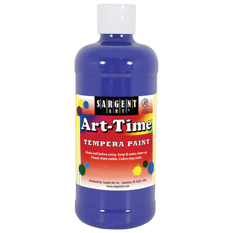 (12 EA) BLUE ART-TIME 16 OZ