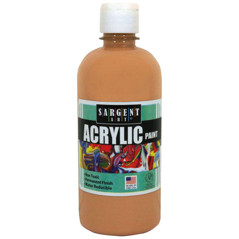 16OZ ACRYLIC PAINT - PEACH
