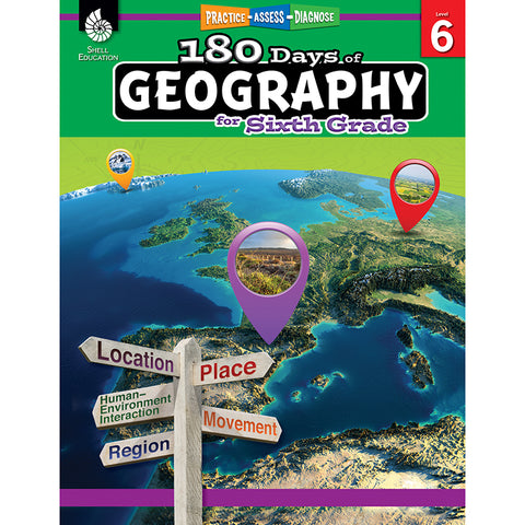 180 DAYS OF GEOGRAPHY GRADE 6