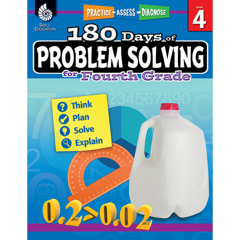 180 DAY PROBLEM SOLVING GR4 WORKBK