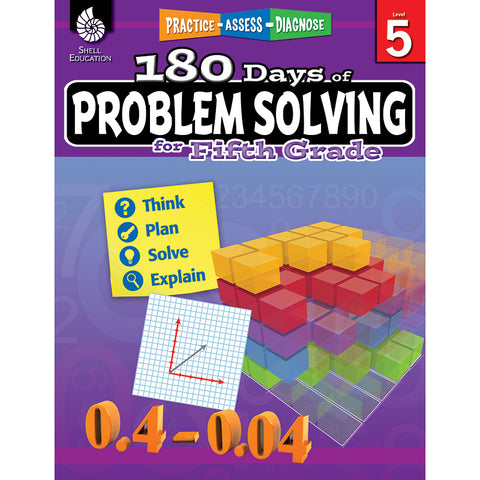 180 DAY PROBLEM SOLVING GR5 WORKBK