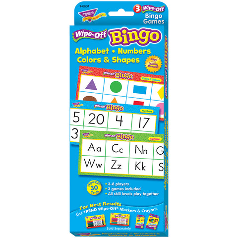 ALPHABET NUMBERS COLORS & SHAPES