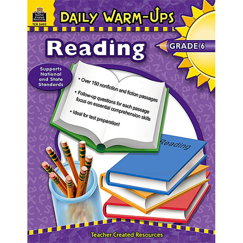 DAILY WARM-UPS READING GR 6