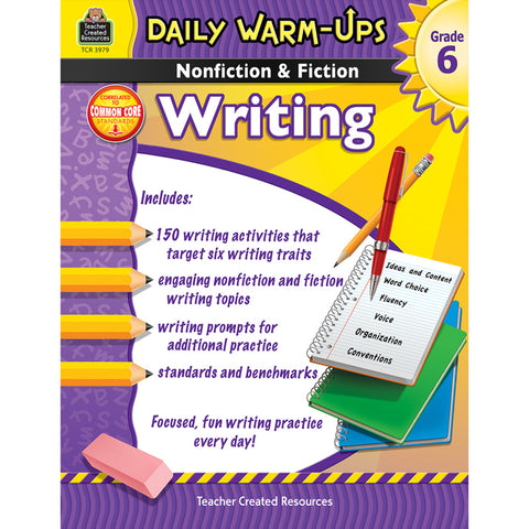 DAILY WARM UPS GR 6 NONFICTION &