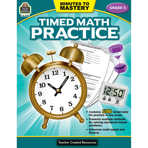 MINUTES TO MASTERY TIMED MATH GR 6