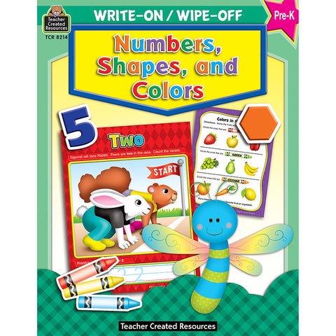 WRITE-ON/WIPE-OFF NUMBERS SHAPES &