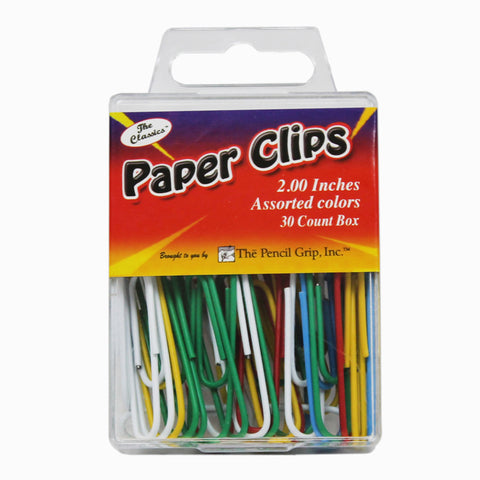 JUMBO PAPER CLIP ASSORTED COLORS
