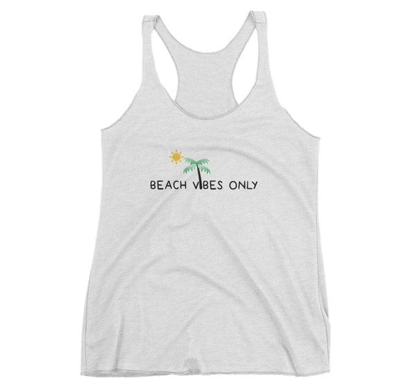 Beach Vibes Only women's tank top