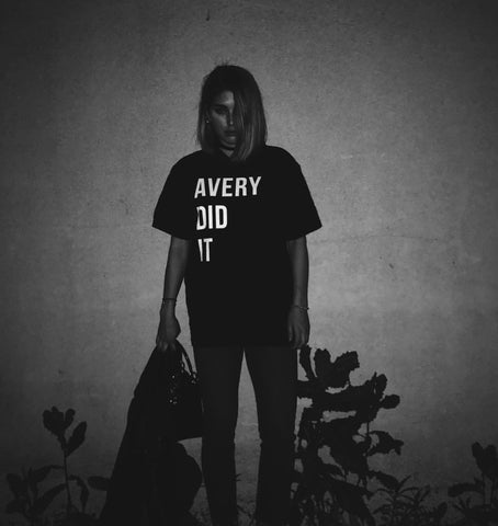 """Avery Did It"" Tees"